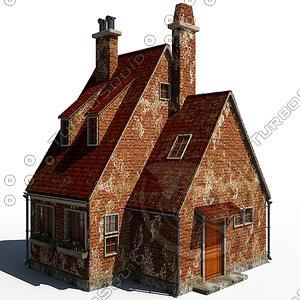 house 3d fbx