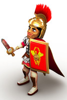 Cartoon Centurion