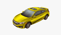 3d model modern car