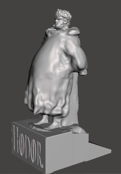 3d door hodor model