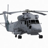 sh2 seasprite helicopter 3d model