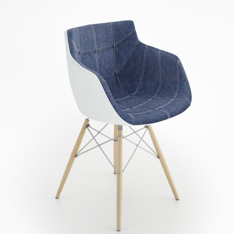 mdf flow chair vitra max