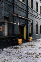 scene render exterior 3d model
