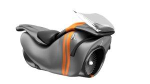 flying bike 3d x