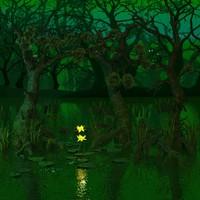 3d swamp model