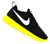 3d model of popular nike roshe shoes