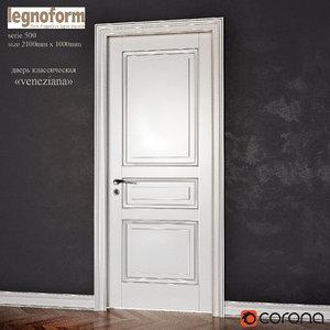 door legnoform veneziana 3d model