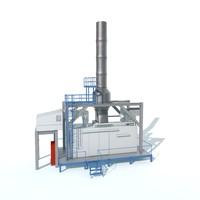 compressor outdoor gas 3d model