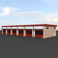 Industrial garages