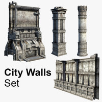 City Walls Set