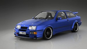 sierra rs500 cosworth 3d max