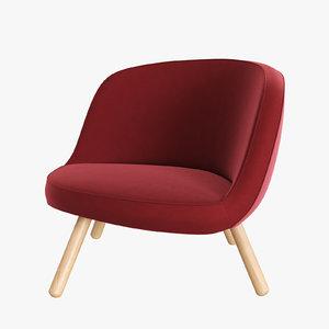 3d chair designed furniture