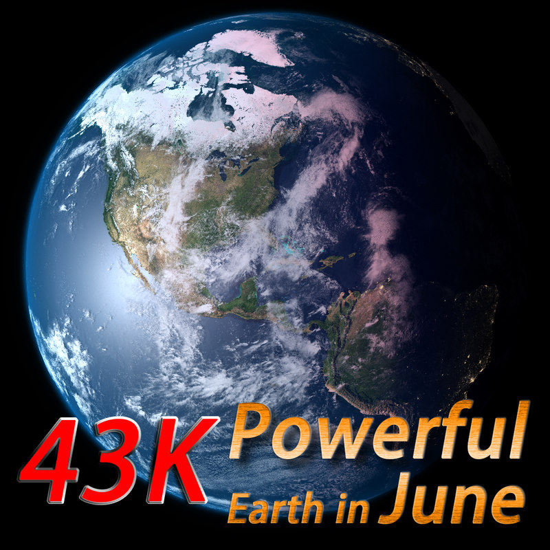 powerful earth june 3d ma