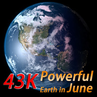 Powerful Earth ( Earth in June)