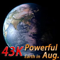 Powerful Earth ( Earth in August )