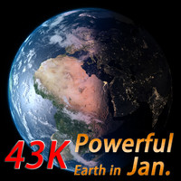 Powerful Earth ( Earth in January)