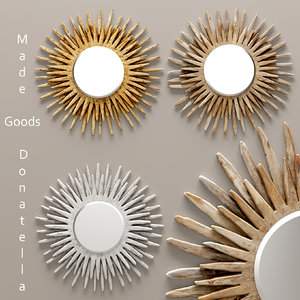 goods donatella set mirrors 3d model