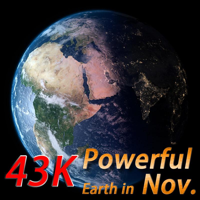 powerful earth november 3d ma
