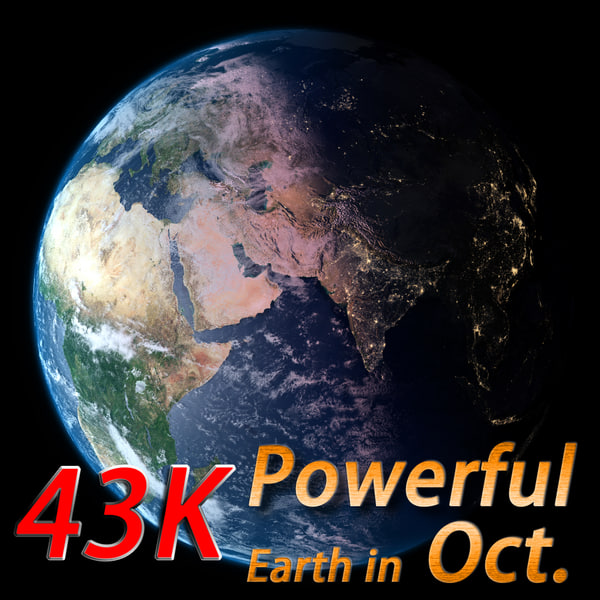 3d powerful earth october