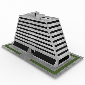 office build 37 3d model
