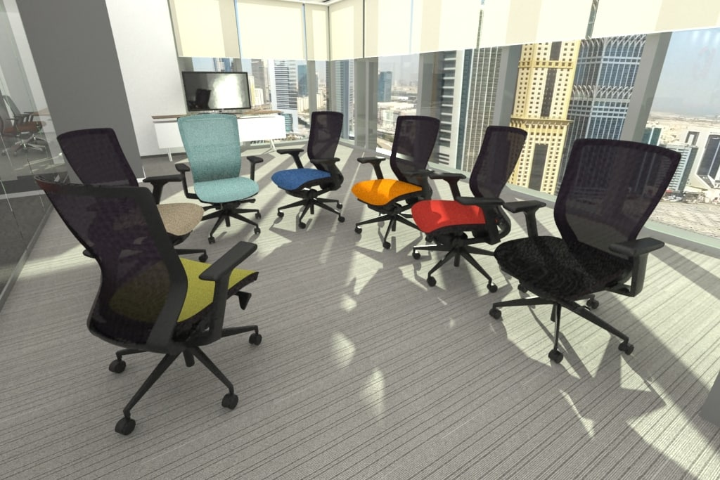 3d fursys sidiz t50 chair model