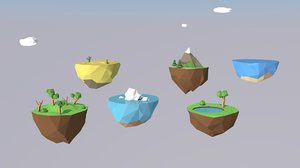different islands 3ds