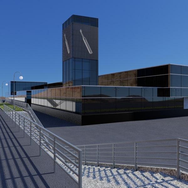 3d model research medical center