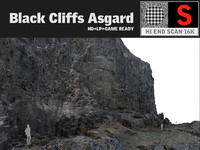 3d max black cliffs 16k