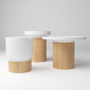 zeitraum table apu 3d model
