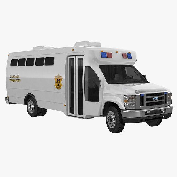 max prisoner transport vehicle