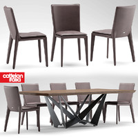 table cattelan italia 3d model