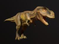 tyrannosaurus rex obj