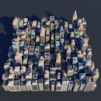 Lowpoly City Megapack