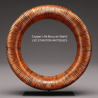 copper life bouy stand 3d model