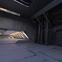 max sci fi interior