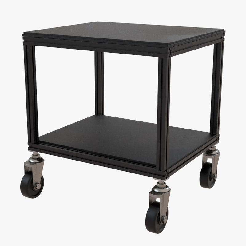 3d model dolly cart