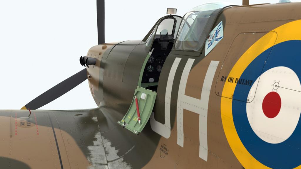 3d spitfire vb