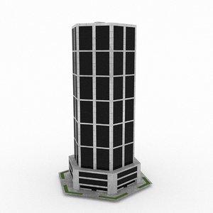 office build 39 3d model