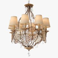 marcella light chandelier feiss obj