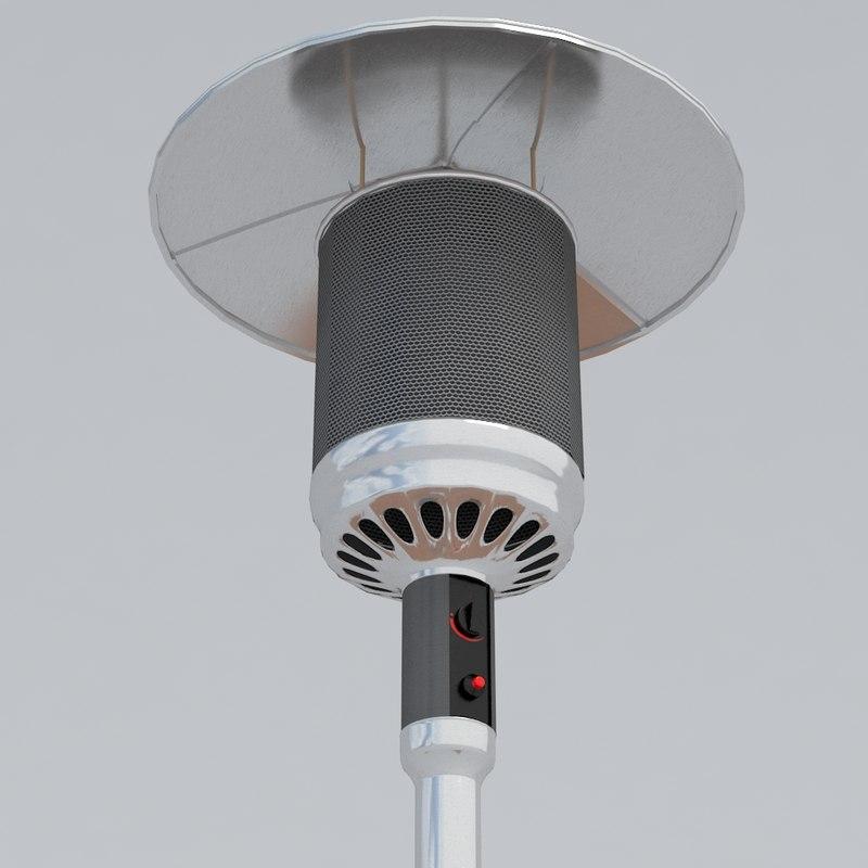 3ds patio heater