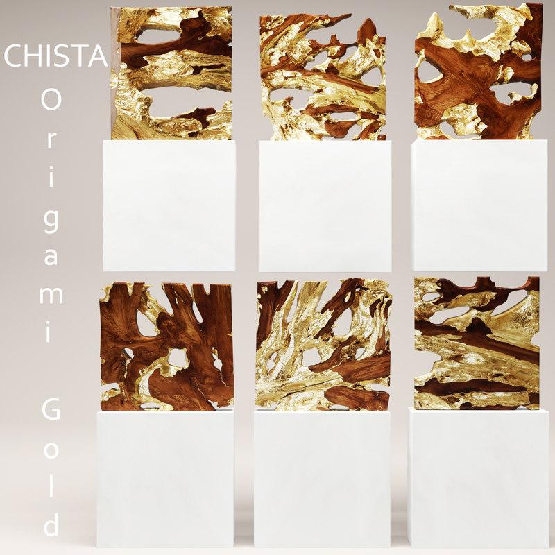max chista origami gold
