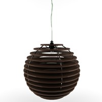 wood ceiling lamps variant2 3d max
