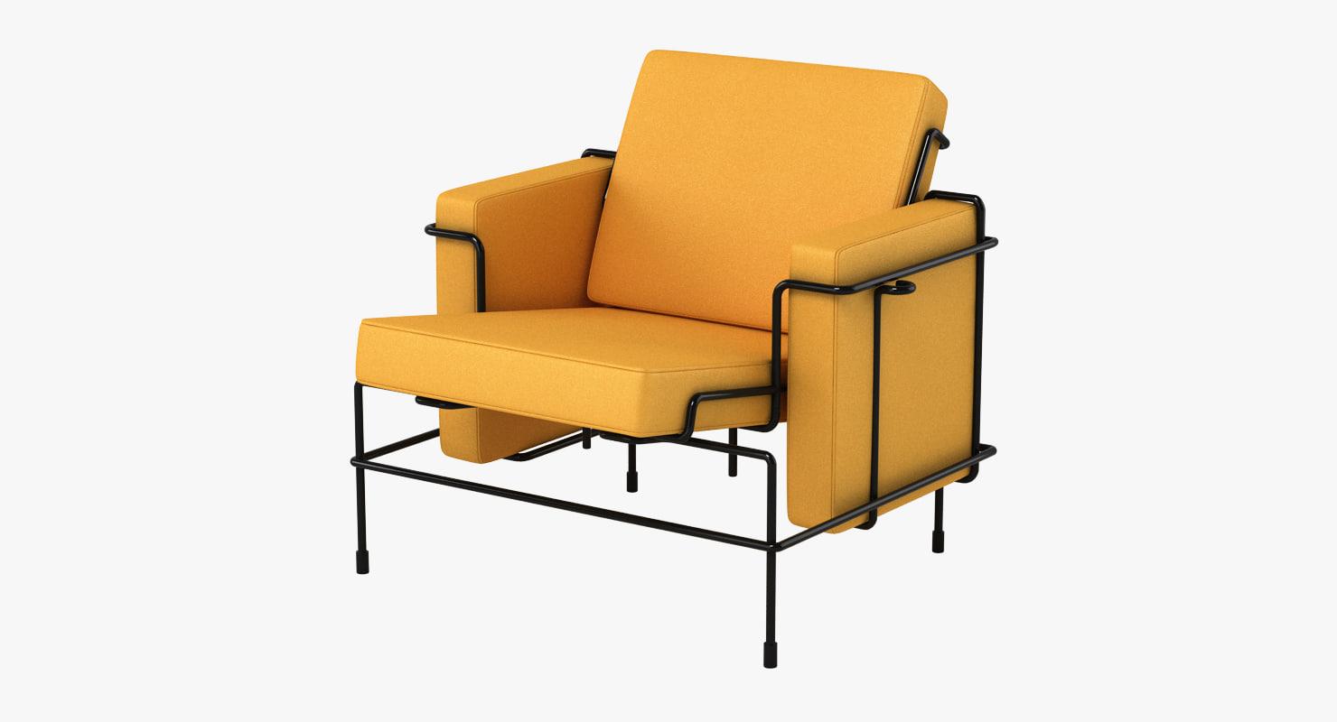 3d max magis chair