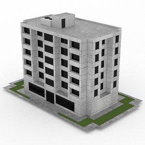 office build 40 3d 3ds