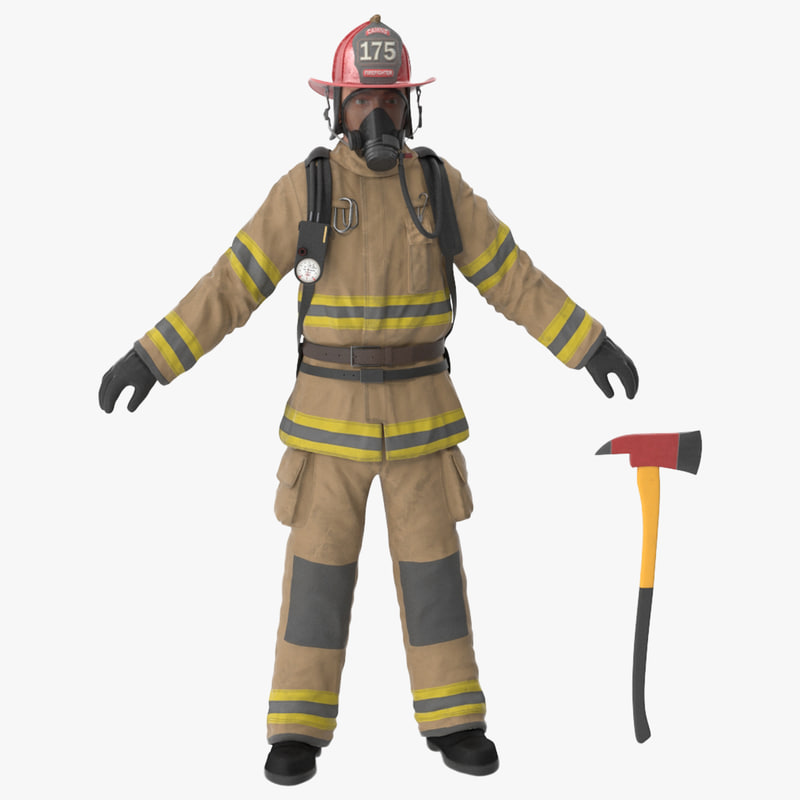 firefighter clean 3d max