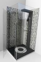 modern shower liberty max