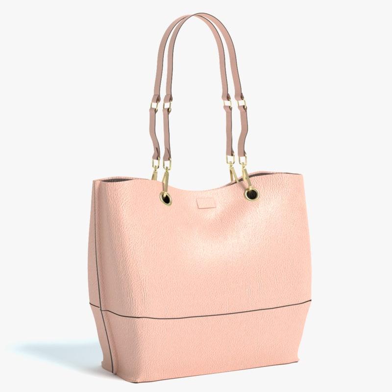handbag hand bag 3d model