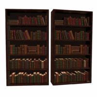 ready bookcase obj