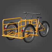triciclo titan cargo bike max
