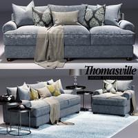 Thomasville Portofino sofa and  Portofino Armchair
